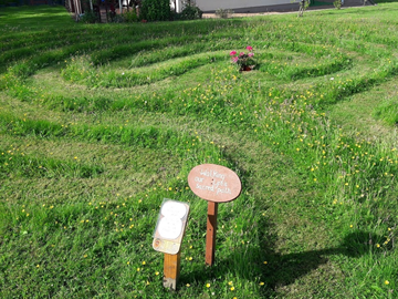 The Labyrinth that relates to wholeness. Labyrinths have long been used as rich sources for meditation and prayer.